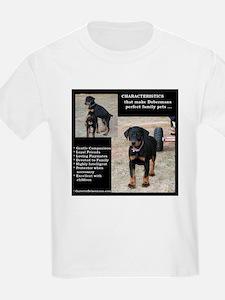 Doberman Characteristics T-Shirt
