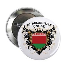 """Number One Belarusian Uncle 2.25"""" Button"""