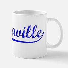Vintage Brazzaville (Blue) Mug