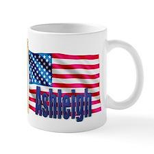 Ashleigh Personalized USA Flag Mug
