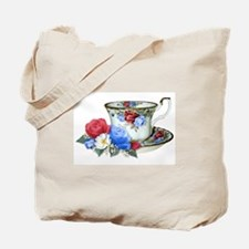 American TeaCup Tote Bag