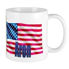 Aron Personalized USA Flag Mug