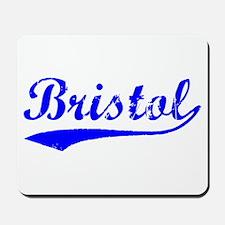 Vintage Bristol (Blue) Mousepad