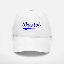 Vintage Bristol (Blue) Baseball Baseball Cap