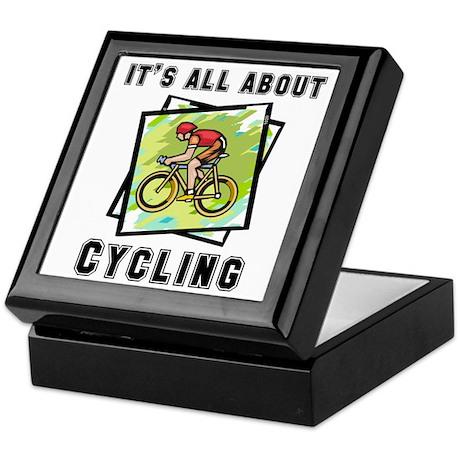 Cycling Keepsake Box