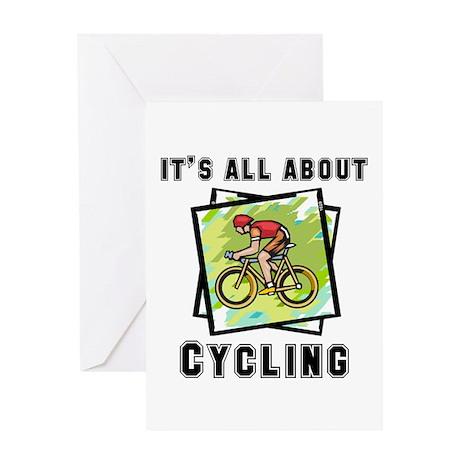 Cycling Greeting Card