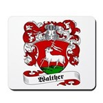 Walther Family Crest Mousepad