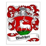 Walther Family Crest Small Poster