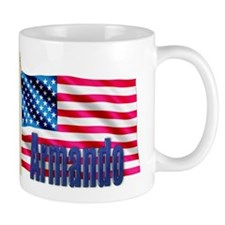 Armando Personalized USA Flag Mug
