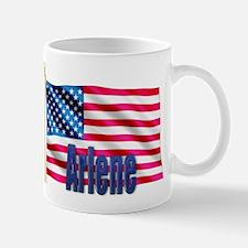 Arlene Personalized USA Flag Mug