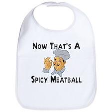 Spicy Meatball Bib