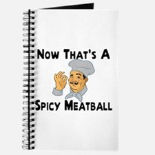 Spicy Meatball Journal