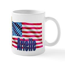 Arielle Personalized USA Flag Mug