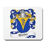 Weiler Family Crest Mousepad
