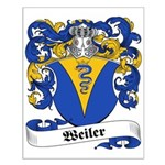 Weiler Family Crest Small Poster