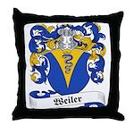 Weiler Family Crest Throw Pillow