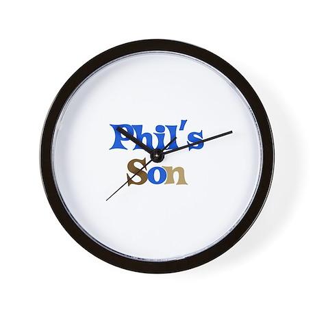 Phil's Son Wall Clock