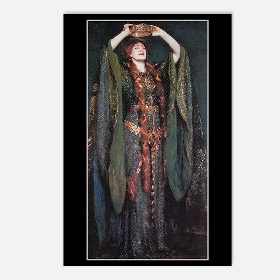 Ellen Terry As Lady MacBeth 2 Postcards (Pk of 8)