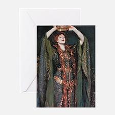 Ellen Terry As Lady MacBeth Greeting Card