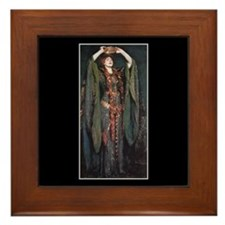 Ellen Terry As Lady MacBeth 2 Framed Tile