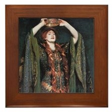 Ellen Terry As Lady MacBeth Framed Tile