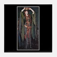 Ellen Terry As Lady MacBeth 2 Tile Coaster