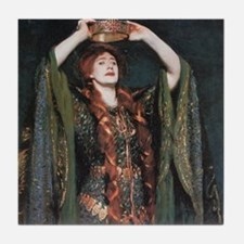 Ellen Terry As Lady MacBeth Tile Coaster