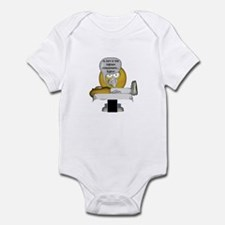 Smiley Massage Fart Infant Bodysuit