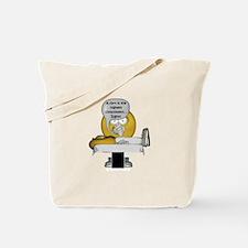 Smiley Massage Fart Tote Bag