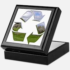 Recycle Symbol Keepsake Box