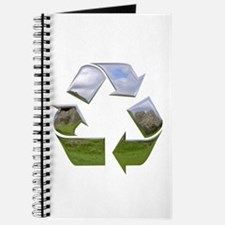 Recycle Symbol Journal