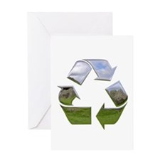 Recycle Symbol Greeting Card