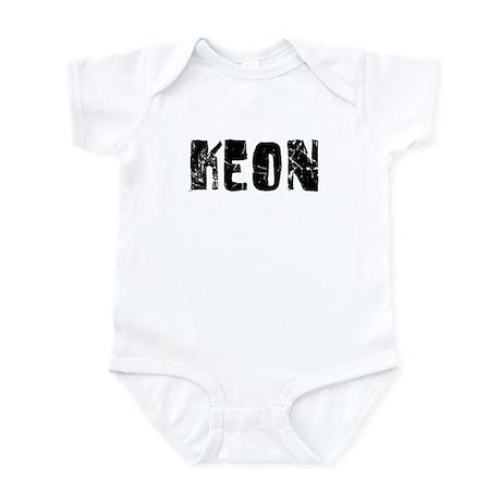 Keon Faded (Black) Infant Bodysuit