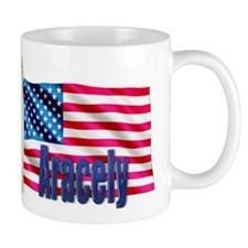 Aracely Personalized USA Flag Mug