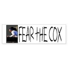 Fear the Cox Bumper Car Sticker