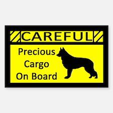 Precious Cargo Shiloh Shepherd Sticker (Rect)