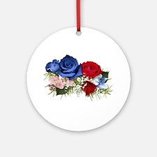 Patriotic Bouquet Keepsake (Round)