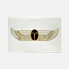 Egyptian Scarab Hieroglyph 2 Rectangle Magnet