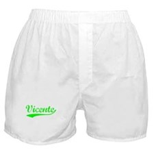 Vintage Vicente (Green) Boxer Shorts