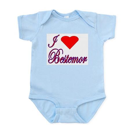 I Love Bestemor Infant Creeper