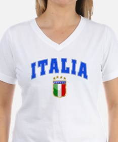 Italia 4 Star European Soccer 2012 Shirt
