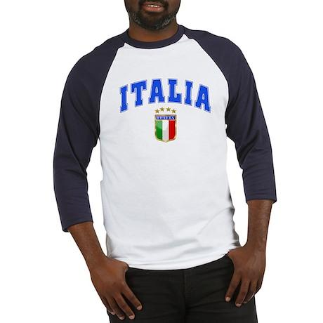 Italia 4 Star European Soccer 2012 Baseball Jersey