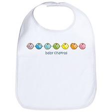 Baby Chakras Rainbow Horz Bib