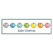 Baby Chakras Bumper Bumper Sticker