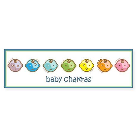 Baby Chakras Bumper Sticker
