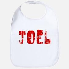 Joel Faded (Red) Bib