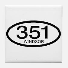 Vintage Ford 351 c.i.d. Windsor Tile Coaster