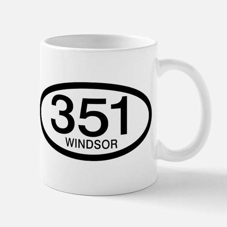 Vintage Ford 351 c.i.d. Windsor Mug