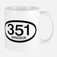 Vintage Ford 351 c.i.d. Windsor Small Small Mug