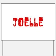 Joelle Faded (Red) Yard Sign